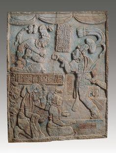 Presentation of Captives to a Maya Ruler (Illustration) - Ancient ...
