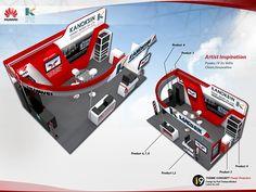 Huawai Kanoksin CDID 2014 Bitec Bangna on Behance