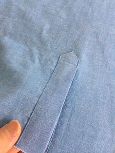 Sewing Techniques Couture How to Sew Professional Sleeve Plackets - Threads Digital Ambassador Peter Lappin writes about how to create a professional sleeve placket. Techniques Couture, Sewing Techniques, Sewing Hacks, Sewing Tutorials, Sewing Tips, Fat Quarter Projects, Leftover Fabric, Love Sewing, Sewing Projects For Beginners