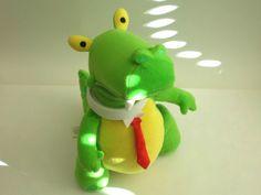 Playskool rubbadubbers Dinosaur Soft Toy green 13  Tall 2003