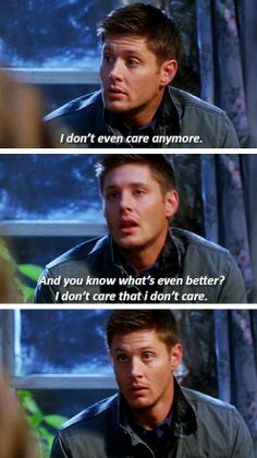 [gifset] 7x09 How to Win Friends and Influence Monsters #SPN #Dean #StonedDean
