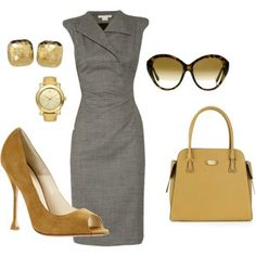 Casual businesswoman!