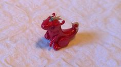 Pink Sassy Dragon Charm by AiryStyles on Etsy