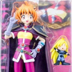 Slayers Try Lina Inverse Mini Gourry LM Figure BANDAI JAPAN ANIME MANGA