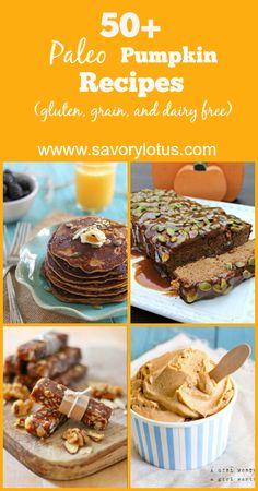 50+ Paleo Pumpkin Recipes -  savorylotus.com
