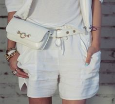 Classic Belt Bag in Gesso, hipstersforsisters.com