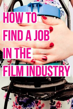 An article explaining how to find work in the film industry (and free guides on where/how to look for work). Click through to read the post and download your free guides | Filmmaker | Filmmaking Article