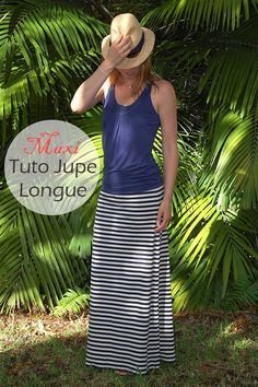Long skirt tutorial with clear pictures and details. Comfortable and easy to use - sewing Simple Dress Pattern, Dress Patterns, Sewing Clothes, Custom Clothes, Maxi Skirt Tutorial, Couture Outfits, Maxi Robes, Couture Sewing, Simple Dresses