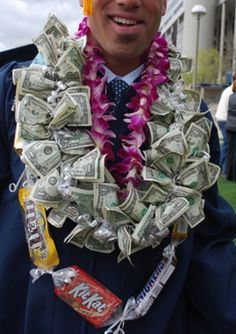 Money Lei & Candy Lei (Great way to give $$ Gift)