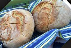 ΜΑΓΕΙΡΙΚΗ ΚΑΙ ΣΥΝΤΑΓΕΣ: Ψωμί ζυμωτό σπιτικό !!! Bread Cake, Greek Recipes, Recipies, Cookies, Breakfast, Breads, Food, Facebook, Recipes