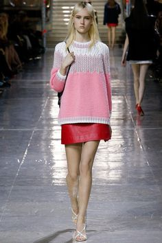 Miu Miu Fall 2014 Ready-to-Wear Collection Slideshow on Style.com