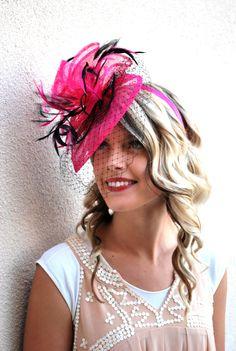 97dbd98318b 32 Best Pink Fascinators - Tea Party Hats images in 2019
