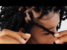 How To Do Kinky Twist Step By Step On Your Own Hair Tutorial Part 2 of 7 - YouTube