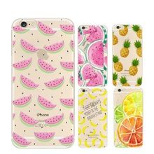 Fruit Pineapple Banana TPU Soft Silicon Transparent Thin Case Cover Coque For…