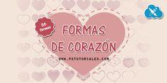 56 formas de corazones   PS Tutoriales