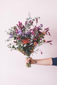 hand tied flower bouquet x FLO atelier botânico