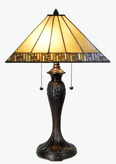 60faf84257fe Contemporary Tiffany Style Table Lamp Art Deco Lamps