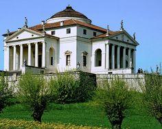 Un'armonia di linee e forme, la Rotonda a #Vicenza di Palladio, patrimonio @UNESCO #visitveneto