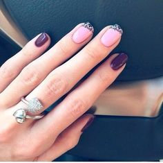 Find images and videos about pink, nails and nail art on We Heart It - the app to get lost in what you love. My Beauty, Beauty Nails, Hair Beauty, Manicure Colors, Nail Colors, Manicure Ideas, Nail Arts, Gel Polish, Cute Nails