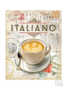 Caffe Italiano Print