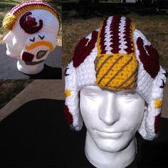 Star Wars X-Wing Crochet Helmet Hat