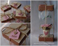 bomboniere Wedding Favors, Party Favors, Diy Paper, Paper Crafts, Felt Crafts, Diy Crafts, Wedding Thanks, Diy Box, Felt Flowers
