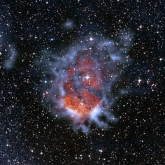 RCW 120 Nebula Shows Expanding Bubble of Ionized Gas. RCW 120 is a nebula that was first discovered in 1960 and is an H II emission nebula in the southern Milky Way, located 4,000 light-years from Earth.