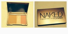 Love NAKED FLUSHED my new contouring and highlighter makeup.