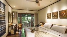 Bien-être en Thaïlande - Chambre avec vue jardin - vue jungle, idéal pour la détente Kamalaya Koh Samui   www.spadreams.fr/pas-cher/thailande/ko-samui/na-muang-laem-set-beach/kamalaya-koh-samui/ #hôtel #thailande #spadreams #yoga #minceur