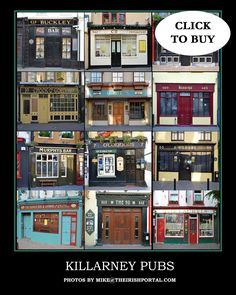 Killarney Pubs Poster Pubbys of Ireland Poster Prints ~ x Posters Poster Prints, Posters, Favorite Words, Prints For Sale, Fathers Day Gifts, Real Life, Ireland, Family Room, Den