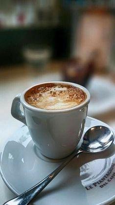 It is always barista, coffee latte, best coffee, coffee shop, Good Morning Coffee, Coffee Break, Coffee Time, Happy Morning, Coffee Drinks, Coffee Cups, Coffee Tumbler, Café Chocolate, Pause Café