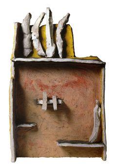 Teatrino Angoscia, Fausto Melotti, 1961, courtesy Mart, Museo di Arte Moderna e Contemporanea di Trento e Rovereto _ Ossessione I_Il Teatro Animista