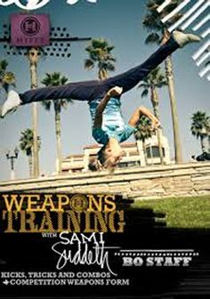 Weapons Training with Sami Suddeth-bo staff-DVD