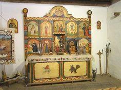 Chapel at El Rancho de las Golondrinas