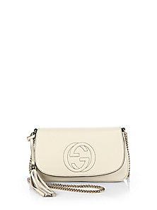 Gucci - Soho Leather Shoulder Bag Everything Designer 000edb0b8e1