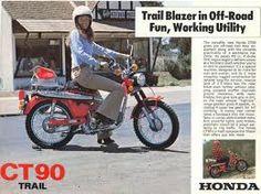 Honda CT 90 Trail, USA, um 1970.
