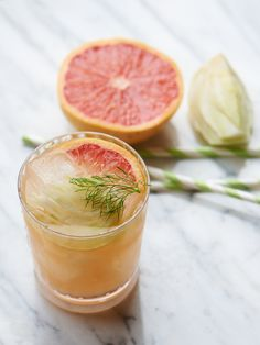 Fennel Grapefruit Cocktails by camillestyles #Cocktail #Grapefruit #Fennel