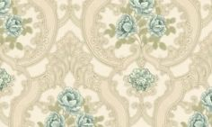 Tapet vinil verde crem floral 7925 Cristina Masi Lei Flooring, Abstract, Interior, Floral, Collection, Design, Home Decor, Christians, Summary