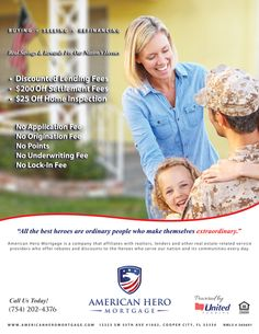 Apply for the va home loan today through americanheromortgage in Miami, Florida. We are the leading service provider for va loans, va refinance & mortgage loan.Just call us (754) 202-4376 . more information visit http://www.americanheromortgage.com/loans-for-military-veterans