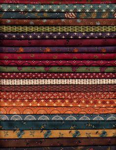 Walk In The Park Fat Quarter Bundle- 23 perfect for Kim Diehl patterns