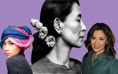 Style inspirations from Asian female icons: Aung San Suu Kyi, Michelle Yeoh & Yuna.  http://www.venusbuzz.com/archives/25049/fashion-friday-dressing-up-la-asian-icons/