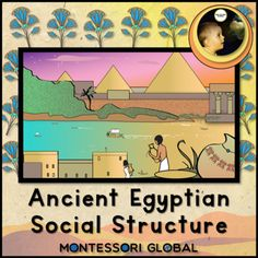 This product introduces students to Ancient Egyptian social structure. Letter sized chart of ancient Egyptian social hierarchy organised in a pyramid chart Letter sized map of Africa highlighting the location of Egypt Montessori 3 part nomenclature cards Definition cards Interactive digital Boom Learning Deck  PowerPoint Presentation to assist with teaching these concepts