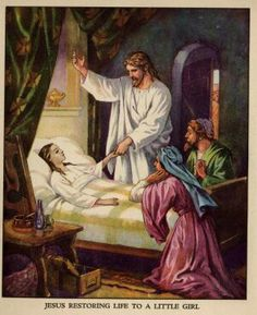 JESUS BRINGS A DAUGHTER BACK TO LIFE ............( tap 2 x on picture to play a very beautiful Song )