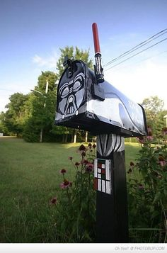 Awesome Darth Vader Letter Box