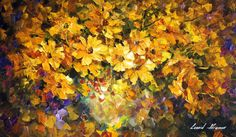 YELLOW BOUQUET - Original Oil Painting On Canvas By Leonid Afremov http://afremov.com/YELLOW-BOUQUET-Original-Oil-Painting-On-Canvas-By-Leonid-Afremov-15-x25-37cm-x-64cm.html?utm_source=s-pinterest&utm_medium=/afremov_usa&utm_campaign=ADD-YOUR