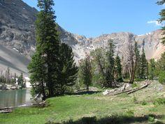 Backside of Ryan Peak, Idaho