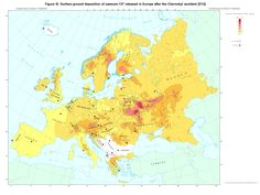 Cs-137 contamination in Europe after Chernobyl nuclear weapon tests ... [2048x1536]  EC/IGCE 1998. wallpaper/ background for iPad mini/ air/ 2 / pro/ laptop @dquocbuu