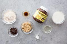 Chocolate Hazelnut Mug Cake Ingredients