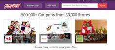 Retail Me Not has coupons for every store ever. | 32 Amazingly Useful Websites Every Woman Needs To Bookmark