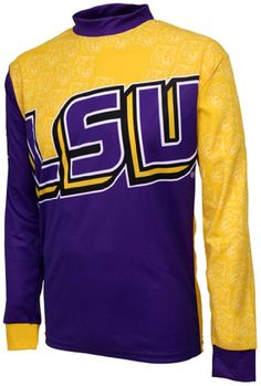 NCAA Men s Adrenaline Promotions LSU Tigers MTB Cycling Jersey 2a64cac8a